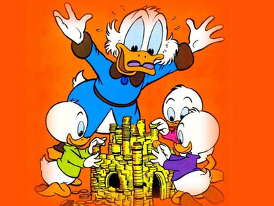 Uncle Scrooge Cartoon Disney