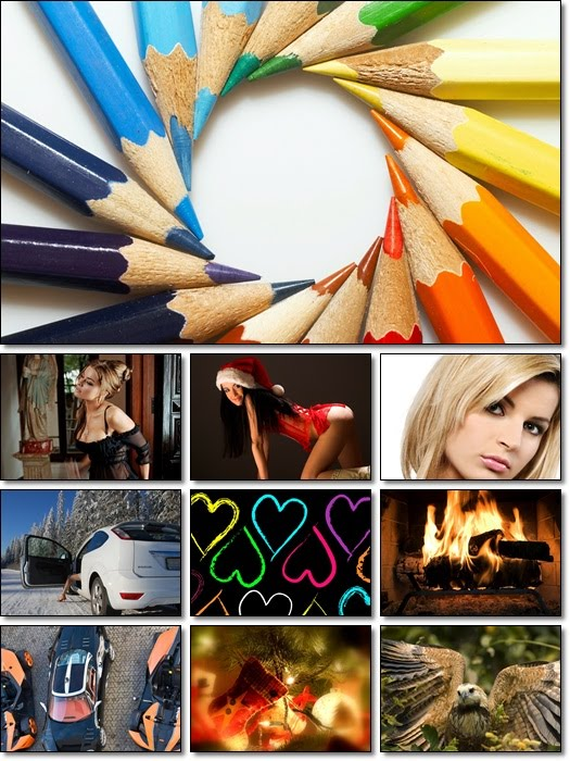 Full HD Mixed Wallpapers Pack 50