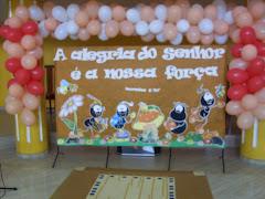 Este foi o nosso tema do culto das crianças ,realizado no sabado passado 30/05/2009