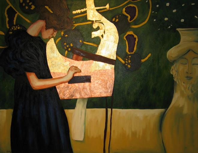 """""""A Arpa de Klimt"""""""