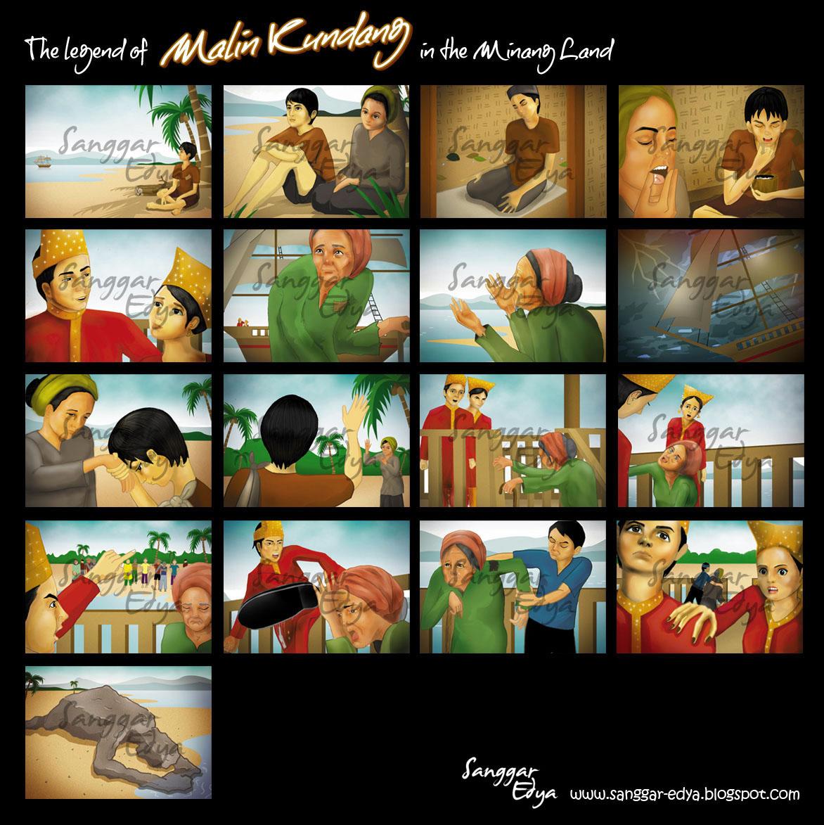 The legend of malin kundang&;