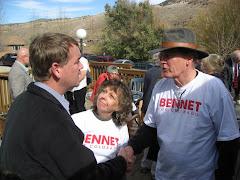 Thanking Senator Bennet