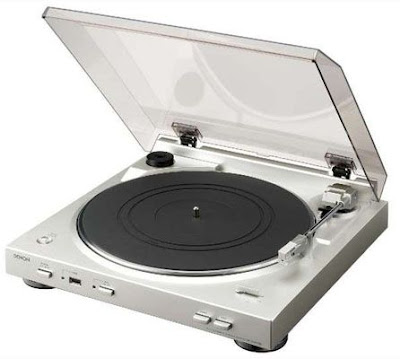 Denon Turntable Converts Vinyls To MP3s