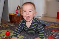 Martin 8 månader