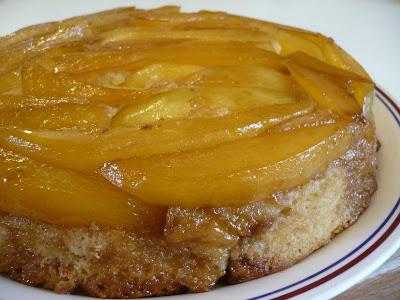 Mango & Cardamom Upside-down Cake