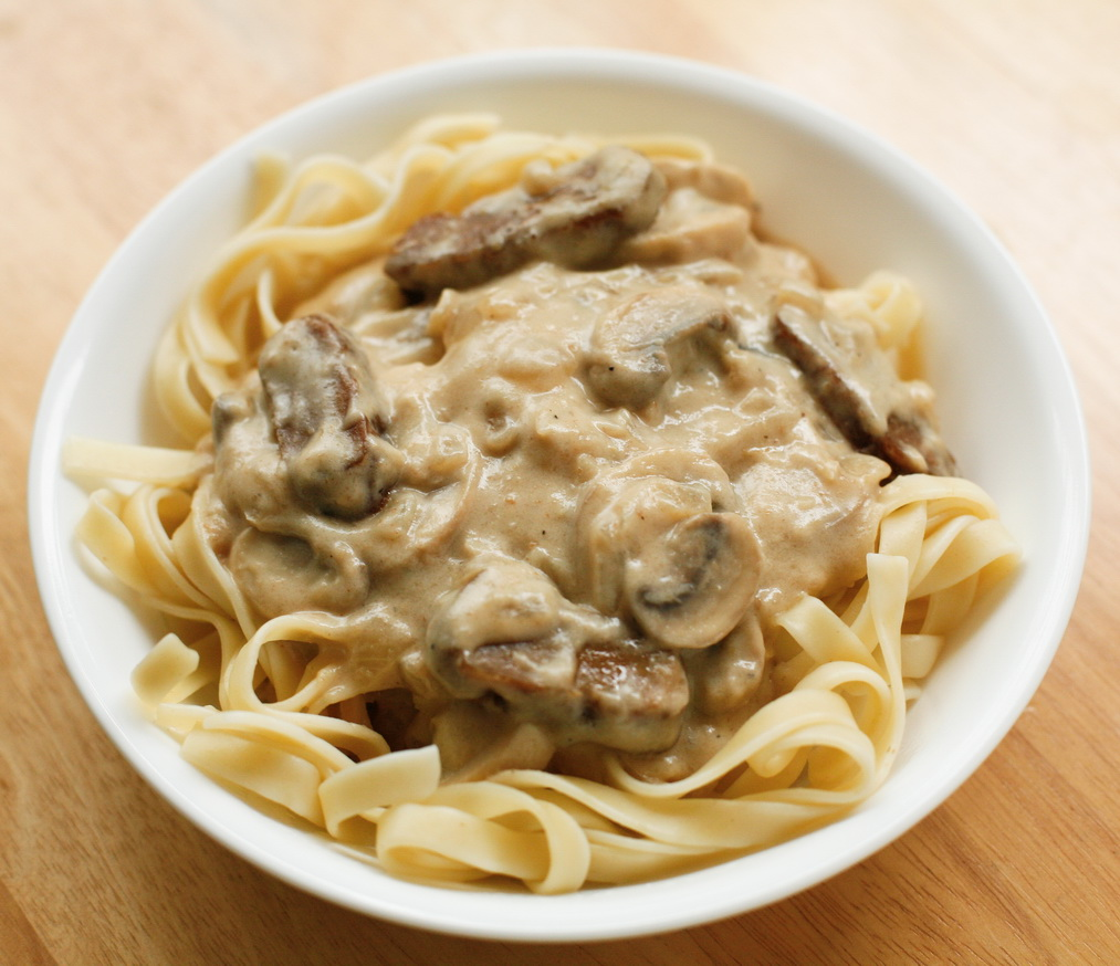 Beef Stroganoff or Beef-Stroganov as it is said in Russian, consists ...