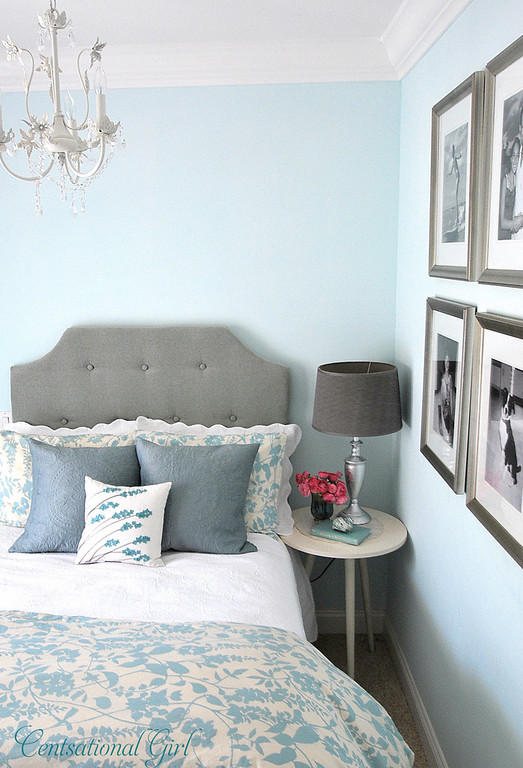 Michelle Kroll Design Turquoise and Gray