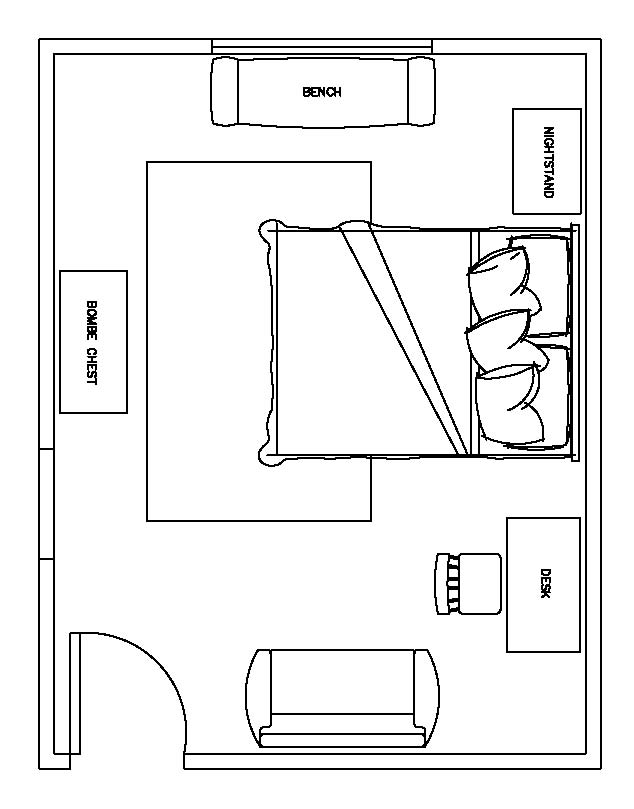 master bedroom design plans for small room - GIWANGAN
