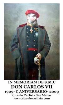 Centenario D. Carlos VII