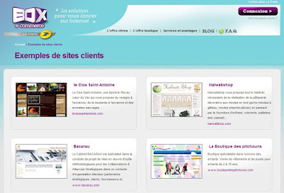 box e-commerce La Poste