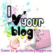 Premio I Love Your Blog