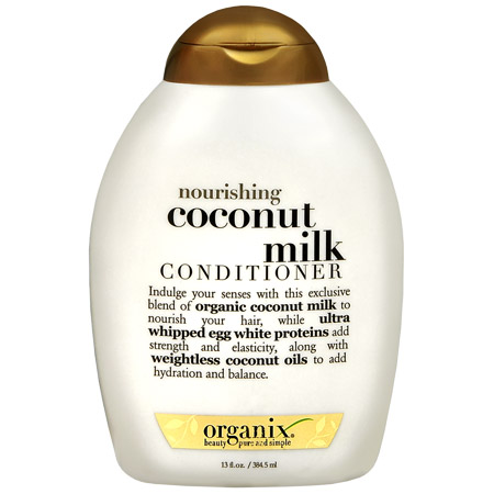 queen reviews organix coconut milk conditioner curly