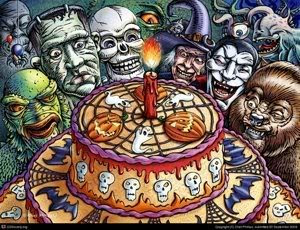 Johnny Thunder's Midnite Spook Frolic: Happy Birthday to Me