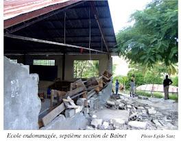 École endommagée á Bainet