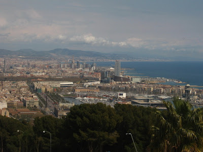 View from the Montjuïc