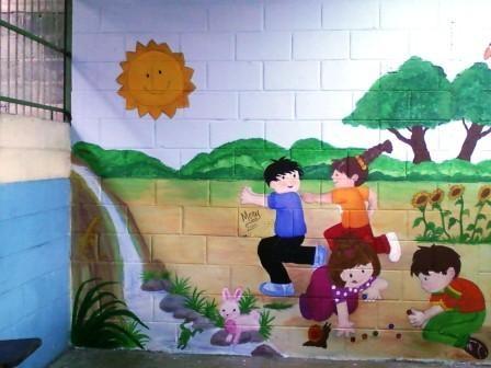 Murales para ni os mi arte creativo entre poemas vivencias y cumplea os - Murales para ninos ...