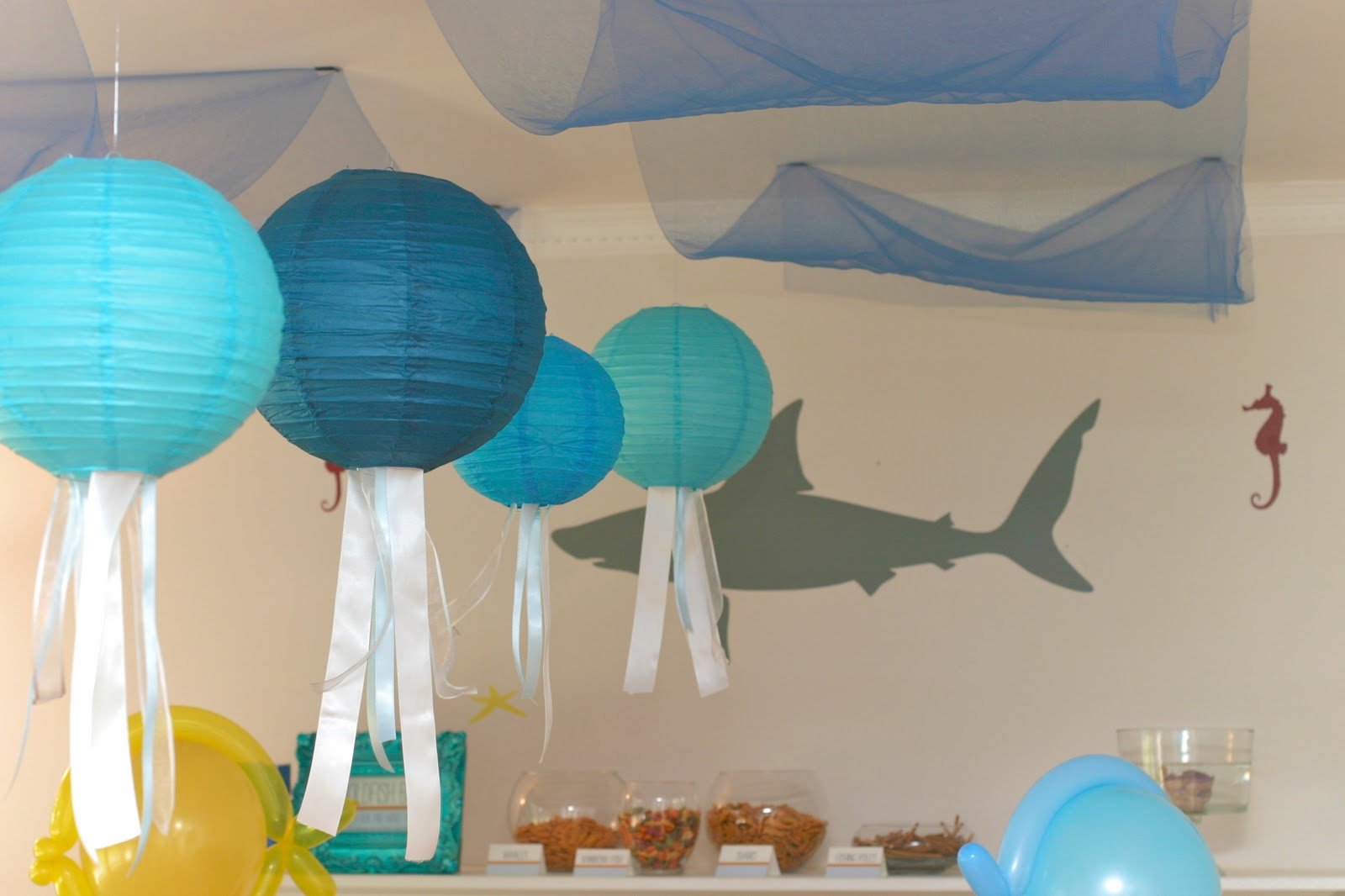CupKates Event Design Under The Sea Birthday Bash