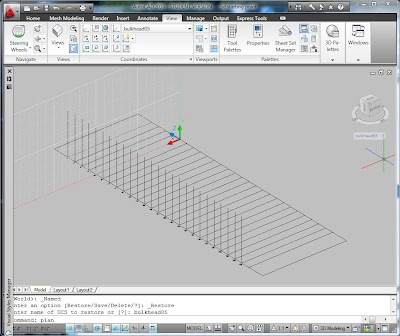 how to add an xz section plane in autocad