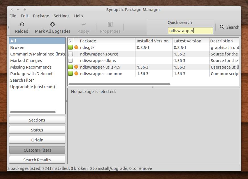 Download NdisWrapper Linux