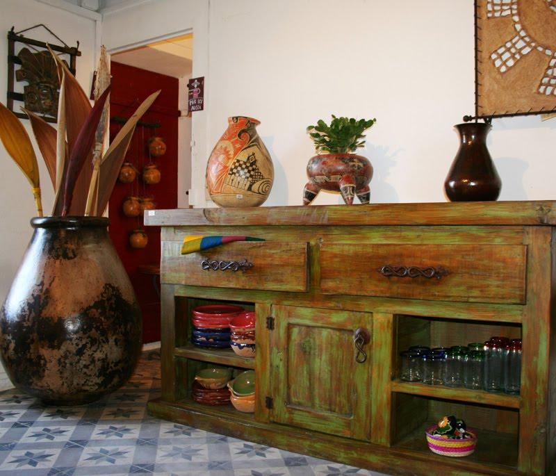 Amadera meuble et d coration le charme thique du mexique authentique meuble mexicain en bois - Meuble ancien restaure ...