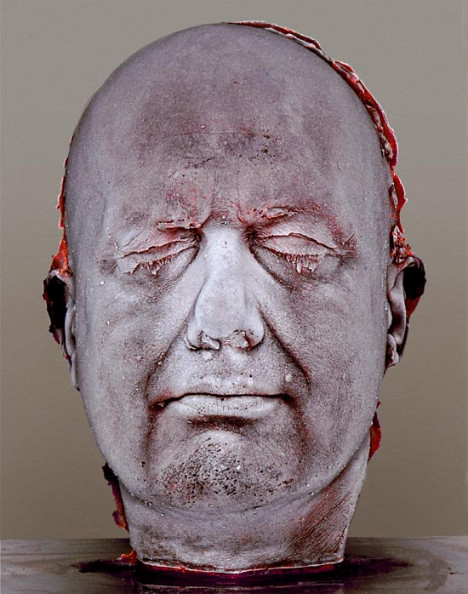 Marc Quinn in his own blood