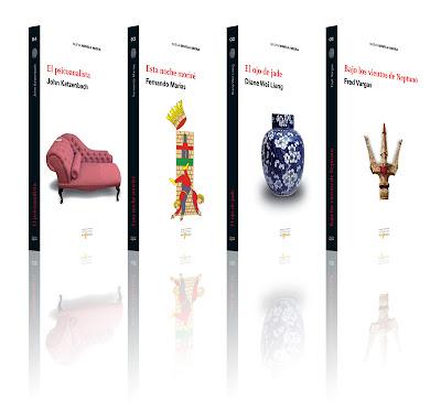 Diseño colección Novela Negra Aprobada