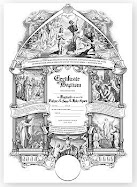 Beautiful Baptismal Certificates