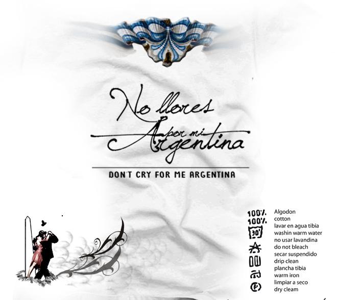 No llores por mi Argentina