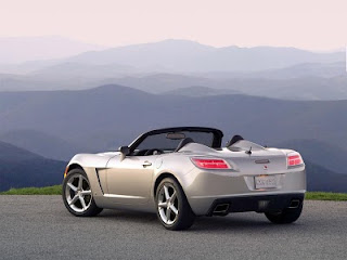Saturn Sky Red Line Rear Pictures