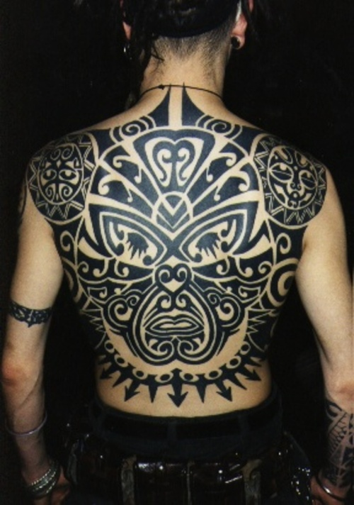 Yes, the revered Ta Moko, meaning the 'process' of acquiring Maori Tattoo