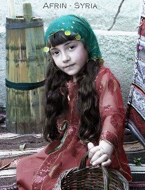 Afrin: Girl in national costume