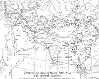 Mapa Viajes Marco Polo