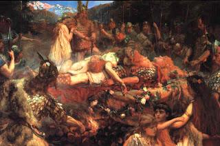 Muerte de Thor - Ragnarok