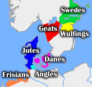 Mapa reinos nórdicos