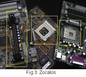 Lucecita18 placa madre de la computadora for Tipos de zocalos