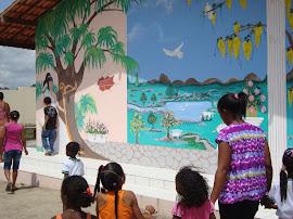 Reinauguração da Escola Francisca