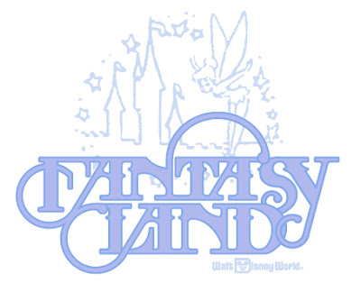 Out Of All The Logos Disney Has Ever Used To Brand Fantasyland 1981 Logo Been My Favorite By Far Type Treatment Is Simply Stunning