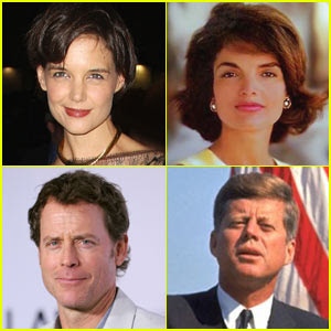 Katie Holmes Jackie Kennedy on Katie Holmes Ser   Jacqueline Kennedy Para Tv