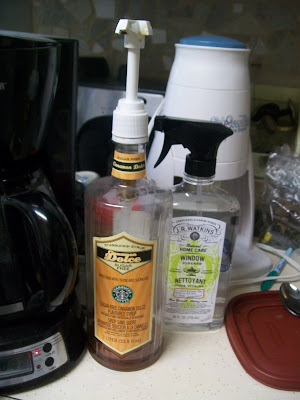 coffee syrup station