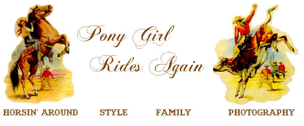 Pony Girl Rides Again