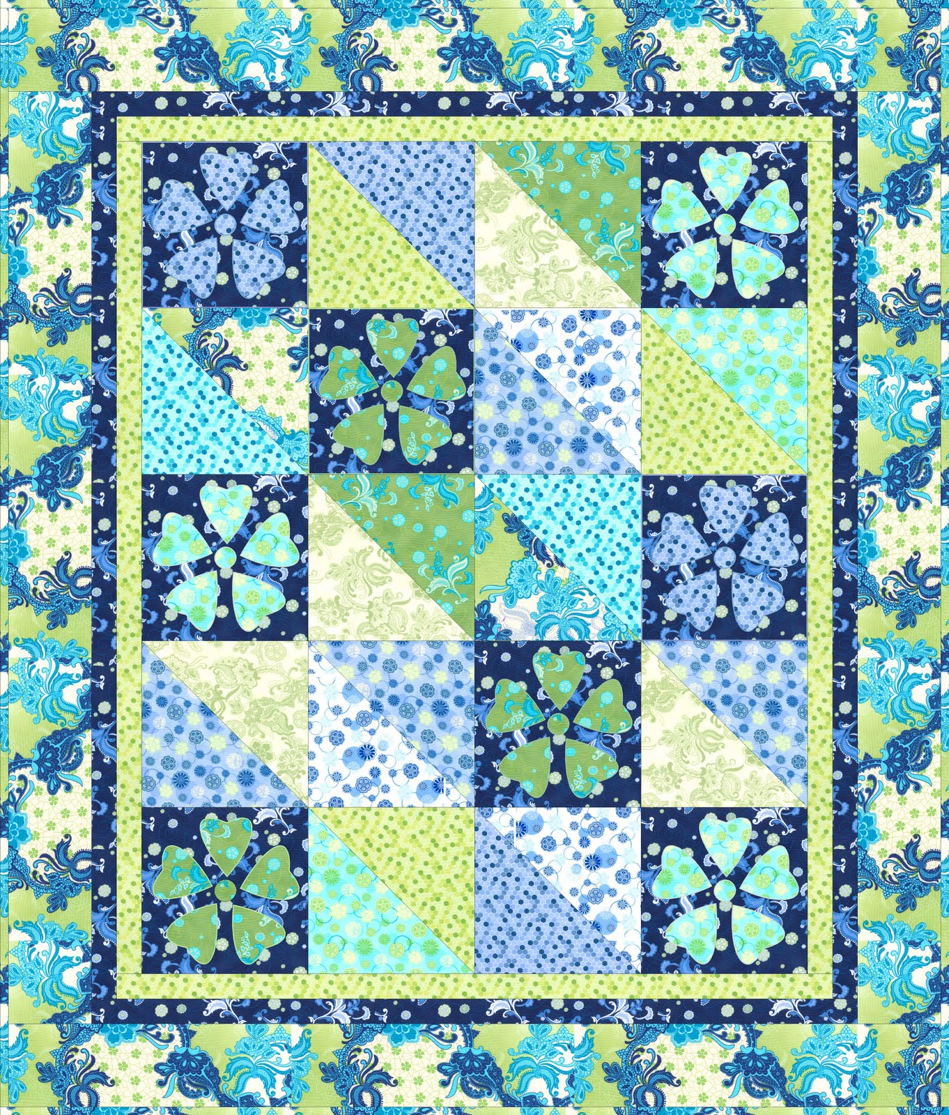 Nancy Rink Designs: Free Quilt Pattern