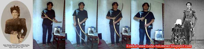 Klewang Majoor Tololiu H.W. Dotulong