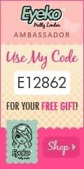 My Eyeko Ambassador Code!