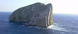 Isleta en Cerdeña