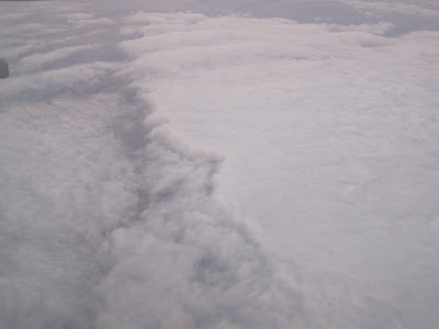 Cloudbank from the air