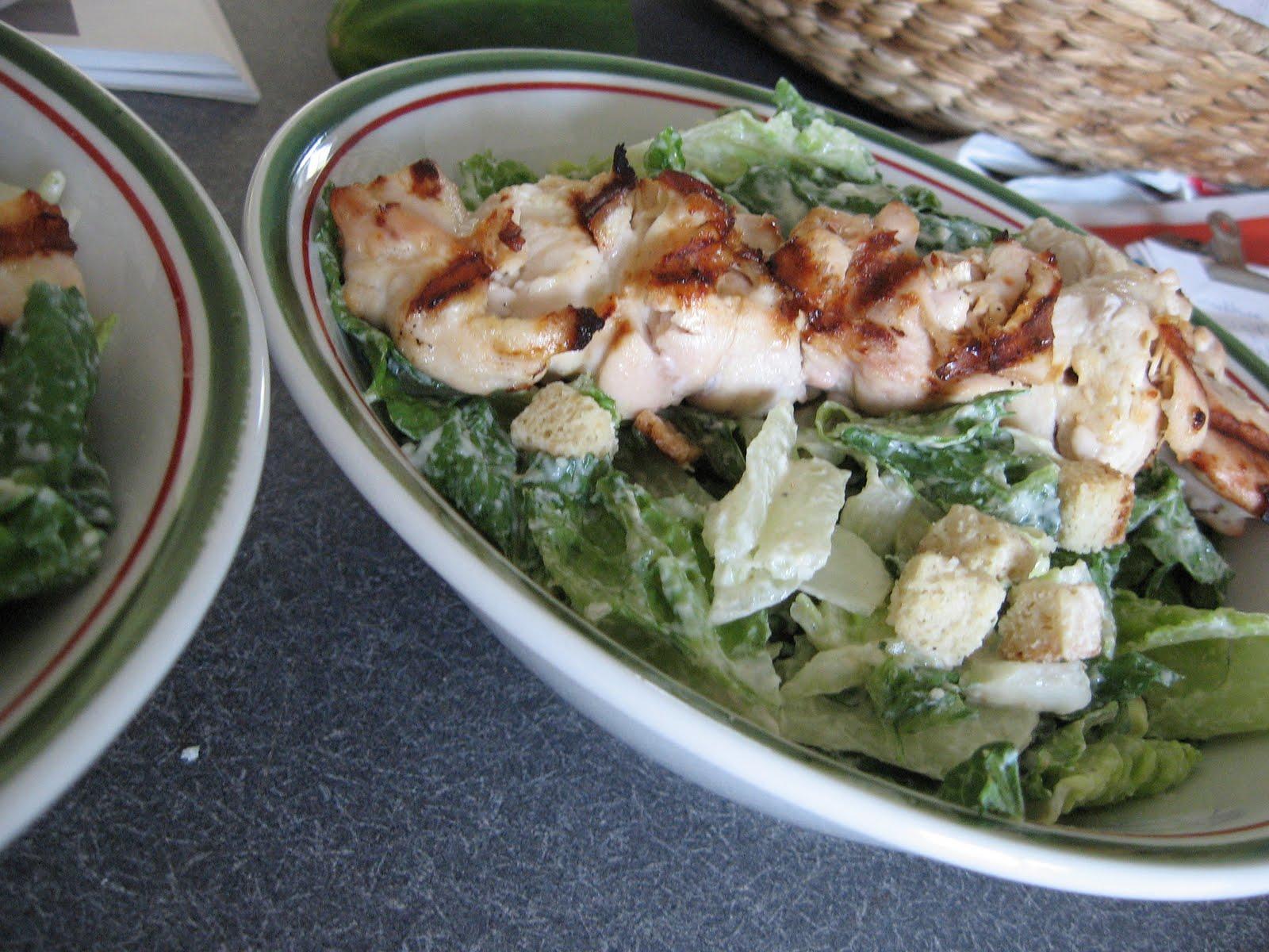Ma cuisine passion salade c sar au poulet grill et - Recette salade cesar au poulet grille ...