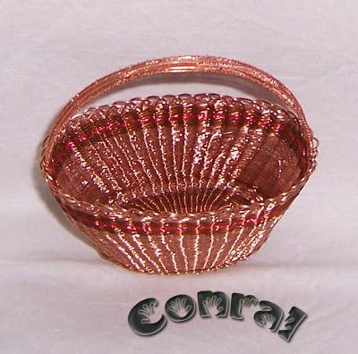 Componiendo libertad objetos variados realizados con hilos de cobre material de desecho - Objetos fabricados con cobre ...