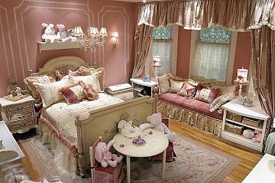 decoração quarto de princesas