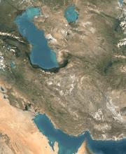 Irán desde un satélite
