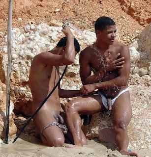 african tribal men boner
